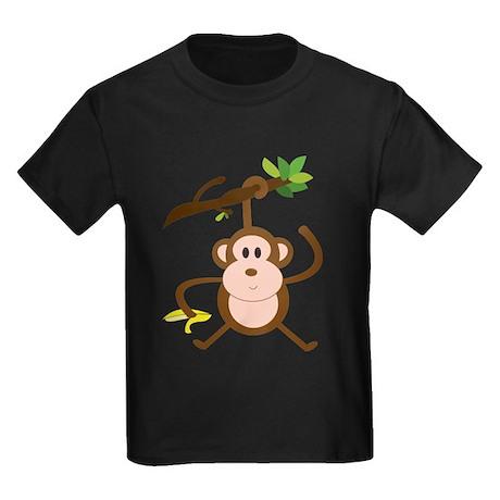 Monkeying Around Kids Dark T-Shirt