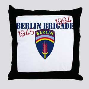 Berlin Brigade 1945-1994 Throw Pillow