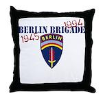 Berlin Brigade 1945-1994 Throw Pillow