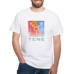 Tcne Men's White T-Shirt