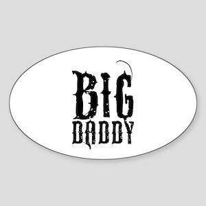 Big Daddy Sticker (Oval)