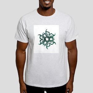 Sea Snowflake Ash Grey T-Shirt