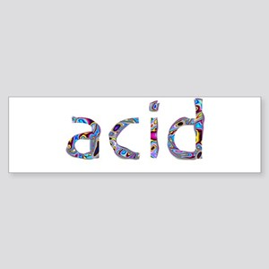 Acid_psyche Sticker (Bumper)