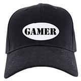 Gamer Baseball Cap with Patch
