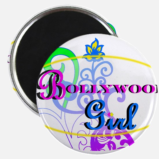 Bollywood Girl! - multi-color Magnet