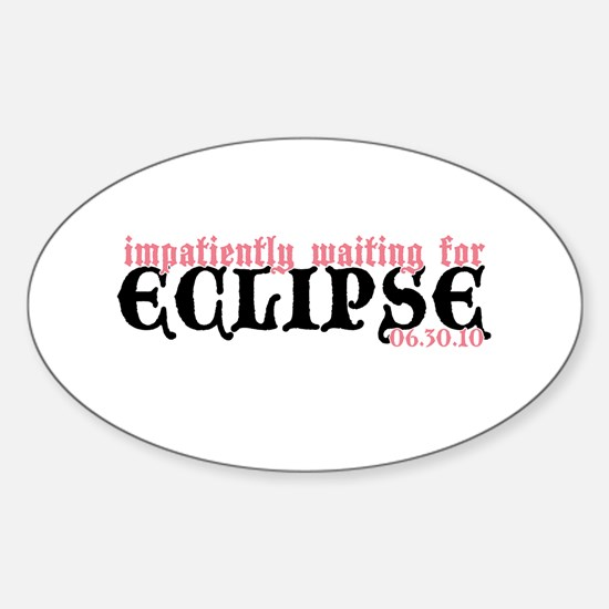 Eclipse Inspired Sticker (Oval)