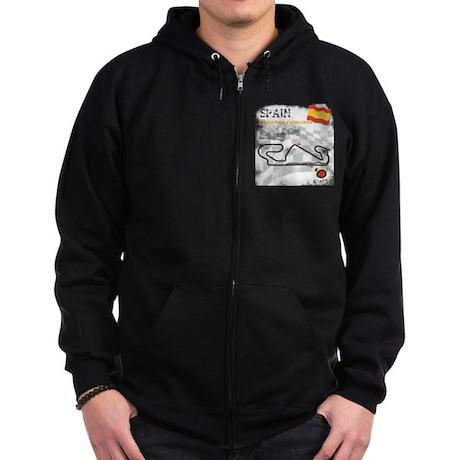 Spanish Grand Prix Zip Hoodie (dark)