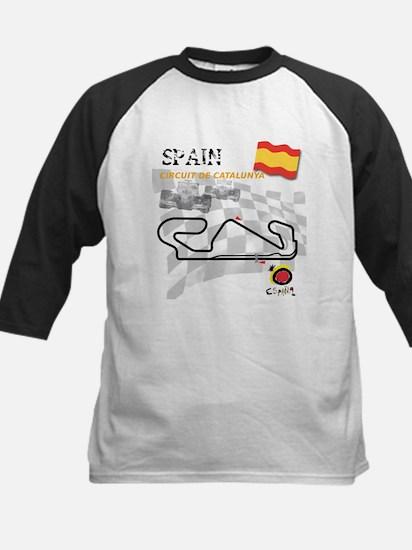 Spanish Grand Prix Kids Baseball Jersey