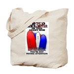 PROUD MEMBER OF THE ANGRY MOB Tote Bag