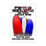 PROUD MEMBER OF THE ANGRY MOB Mini Poster Print