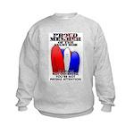 PROUD MEMBER OF THE ANGRY MOB Kids Sweatshirt