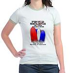 PROUD MEMBER OF THE ANGRY MOB Jr. Ringer T-Shirt