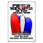 PROUD MEMBER OF THE ANGRY MOB Banner