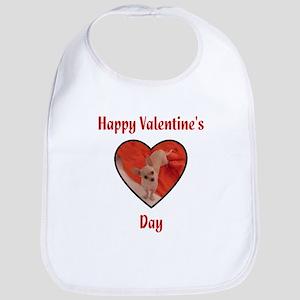 Happy Valentine's Day (chi) Bib