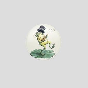 Dancin' Frog Mini Button