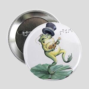"Dancin' Frog 2.25"" Button"