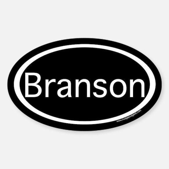 Branson Sticker (Oval)
