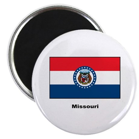 Missouri State Flag Magnet
