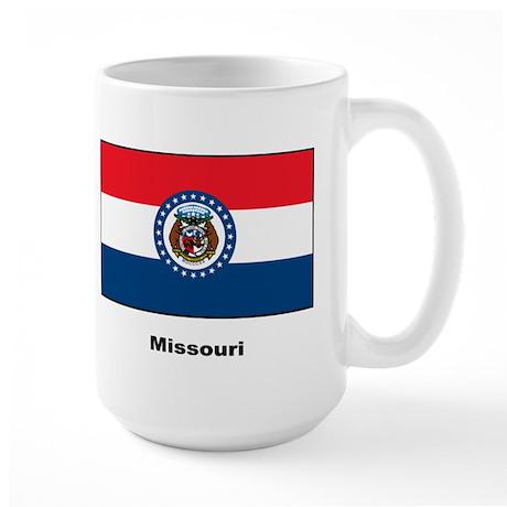 Missouri State Flag Large Mug