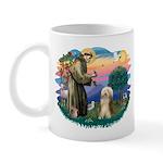 St. Fran. & Bearded Collie Mug