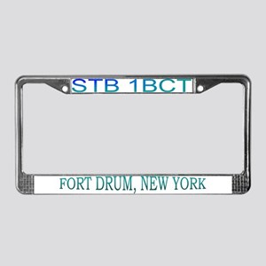 1BCT STB License Plate Frame