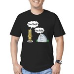 You Rock, You Rule Men's Fitted T-Shirt (dark)