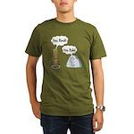You Rock, You Rule Organic Men's T-Shirt (dark)