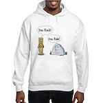 You Rock, You Rule Hooded Sweatshirt