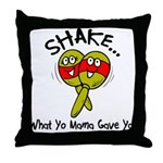 Funny Marocka Throw Pillow