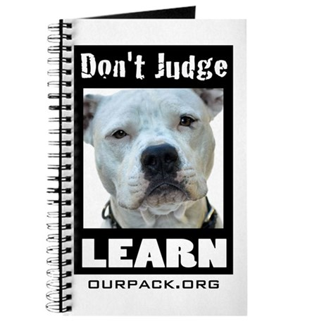Don't Judge...Learn Journal