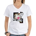 They're Not Bears Women's V-Neck T-Shirt