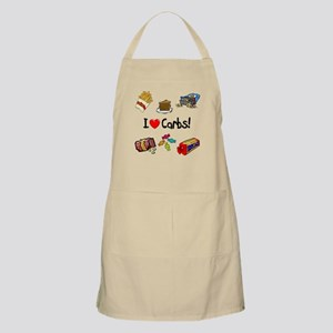 I Love Carbs Apron