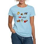 I Love Carbs Women's Light T-Shirt