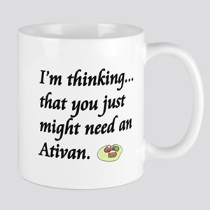 2-atavan pills copy Mugs