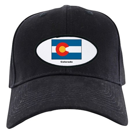 Colorado State Flag Black Cap