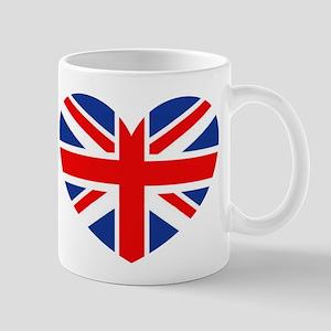 british heart Mugs