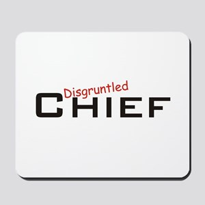 Disgruntled Chief Mousepad