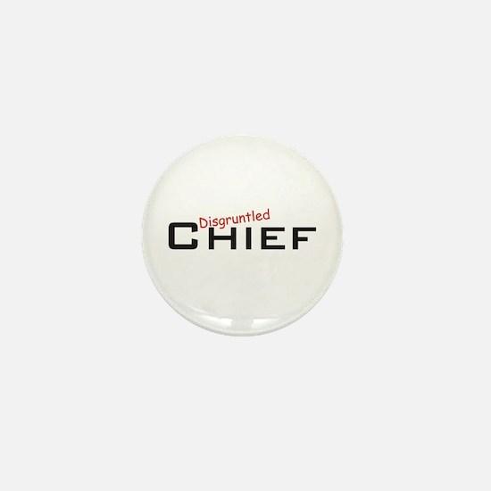 Disgruntled Chief Mini Button
