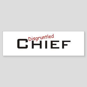 Disgruntled Chief Sticker (Bumper)