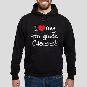 4th Grade Class: Hoodie (dark)