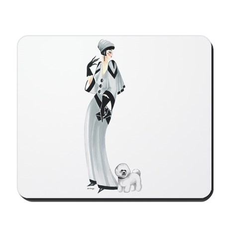 Margaret and Snowflake Mousepad