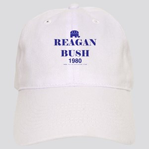 Reagan Bush 1980 Cap