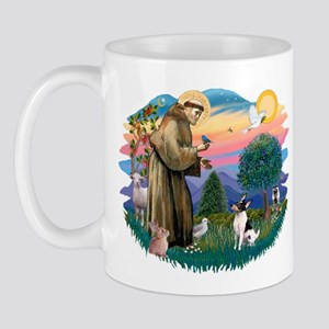 St Francis #2/ Toy Fox Ter. Mug