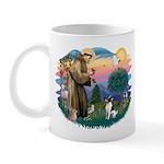 St Francis #2/ Toy Fox Ter. Mug