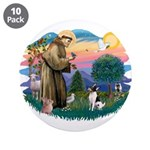St Francis #2/ Toy Fox Ter. 3.5
