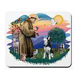 St Francis #2/ Siberian H #1 Mousepad