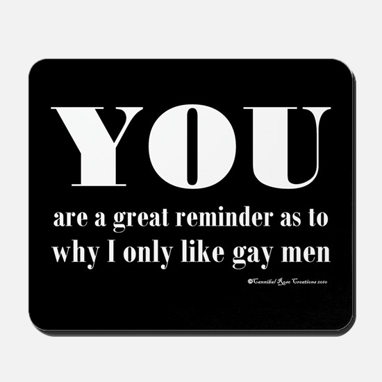 Gay Preferred Mousepad