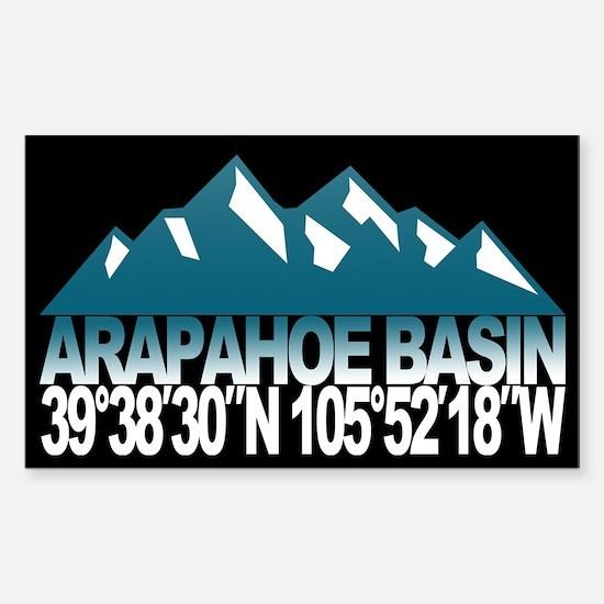 Arapahoe Basin Sticker (Rectangle)
