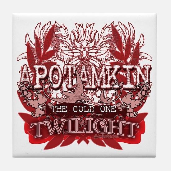 Apotamkin Red Tile Coaster