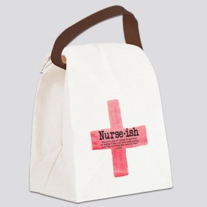 Nurse Ish Student Nurse Canvas Lunch Bag
